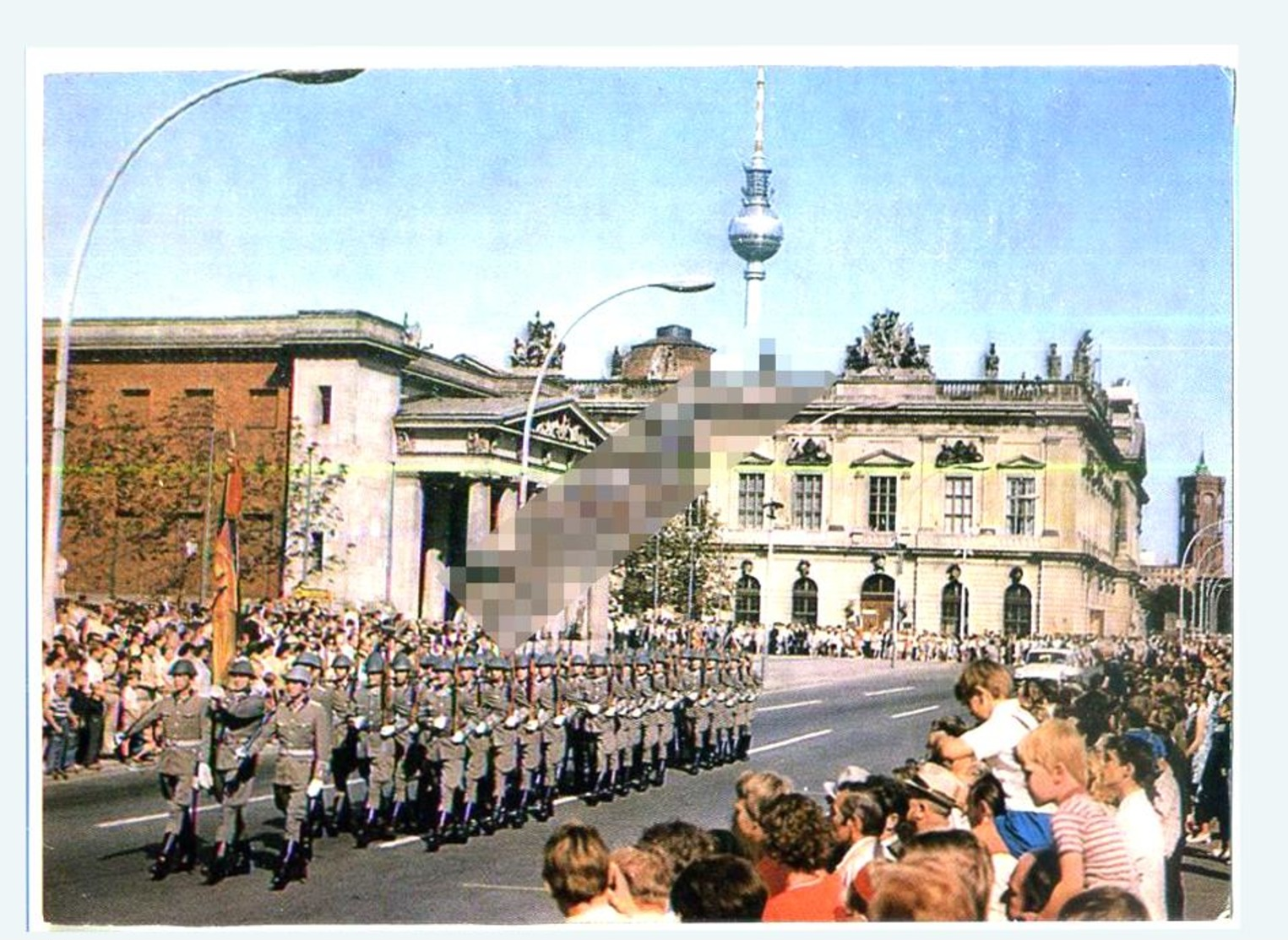 Berlin сarte Pоstale Army Pоstсard Parade - Allemagne