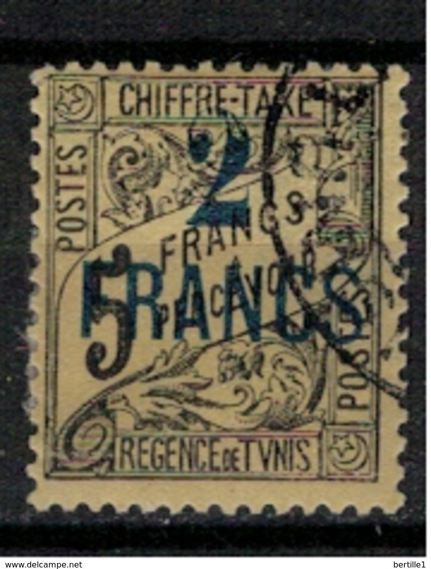 TUNISIE       N°  YVERT    TAXE 36   OBLITERE       ( O   2/33 ) - Tunisia (1888-1955)