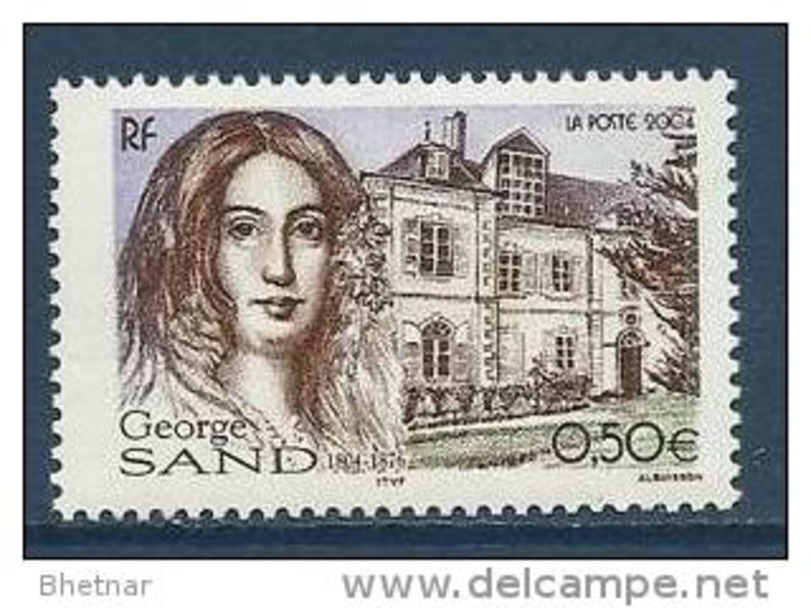 "FR YT 3645 "" George Sand "" 2004 Neuf** - Unused Stamps"