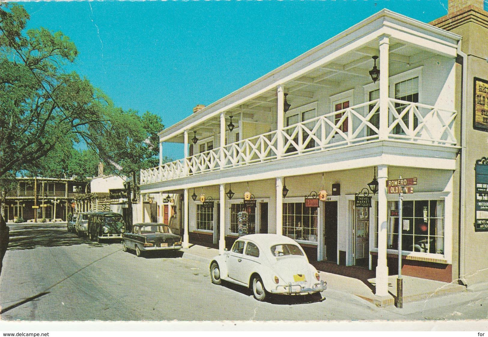 New Mexico : ALBUQUERQUE : Romero Street - Avec Automobile V.W. Coccinelle Blanche - Albuquerque