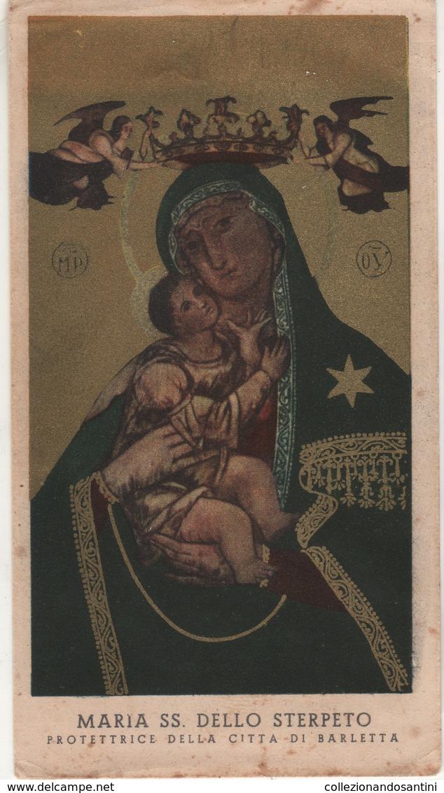 Santino Antico Madonna Dello Sterpeto Da Barletta - Religion & Esotérisme