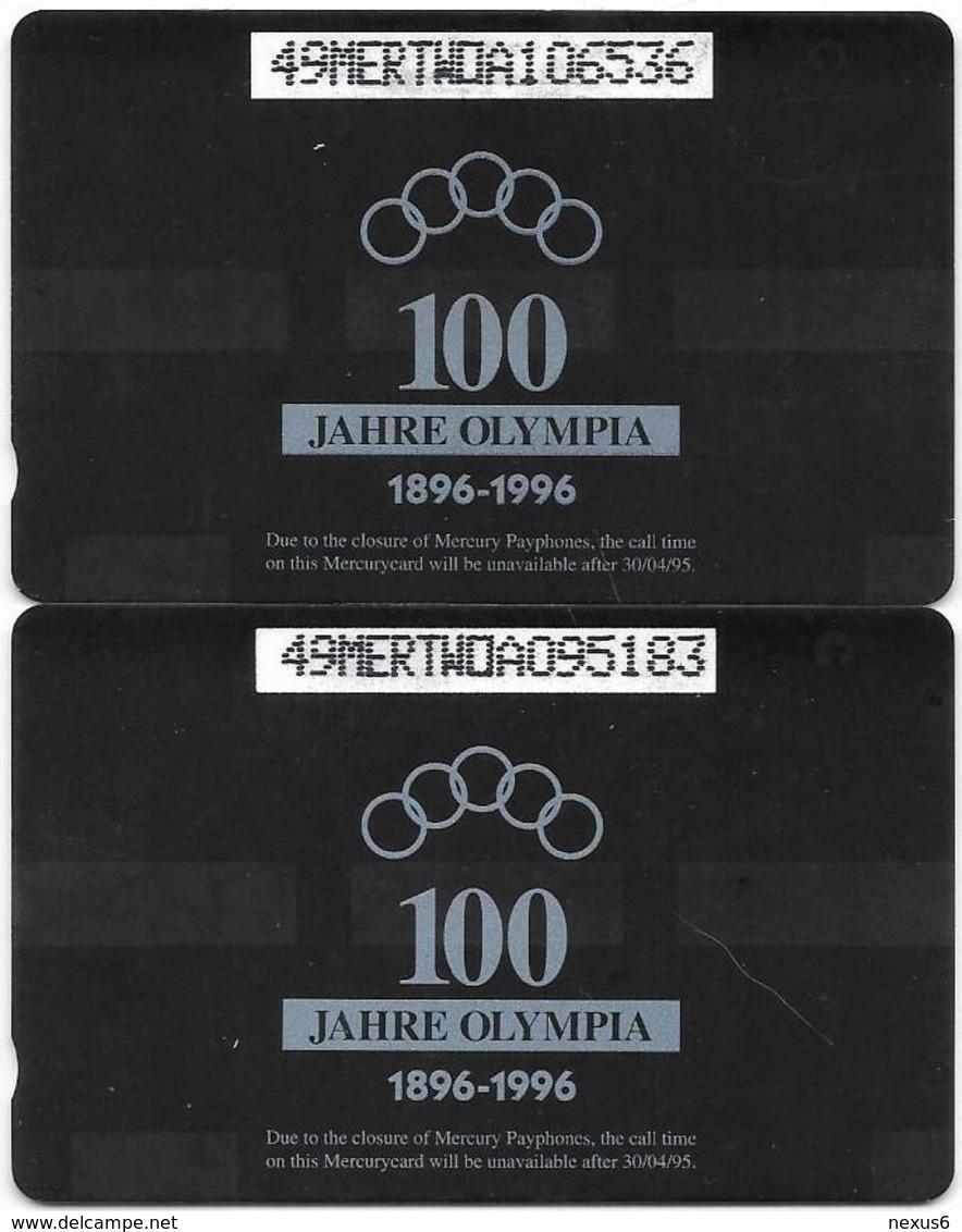 UK (Mercury) - Olympics - Amsterdam 1928 - 49MERTWOA - MEO022-23 - 1.044ex, Used Puzzle Set Of 2 - Reino Unido