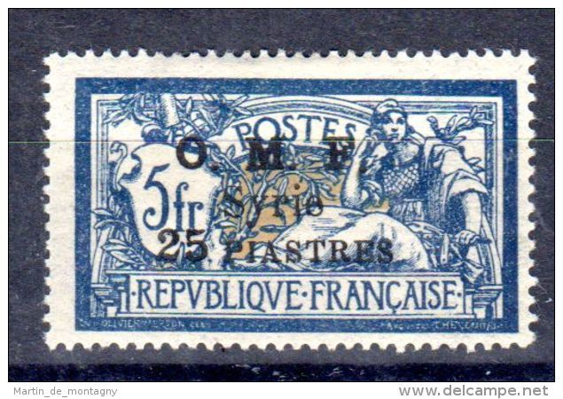 1921; O.M.F. Syrie, Neu Mit Falz, Michel-Nr. 169gem. Scan, Lot 49789 - Syrien
