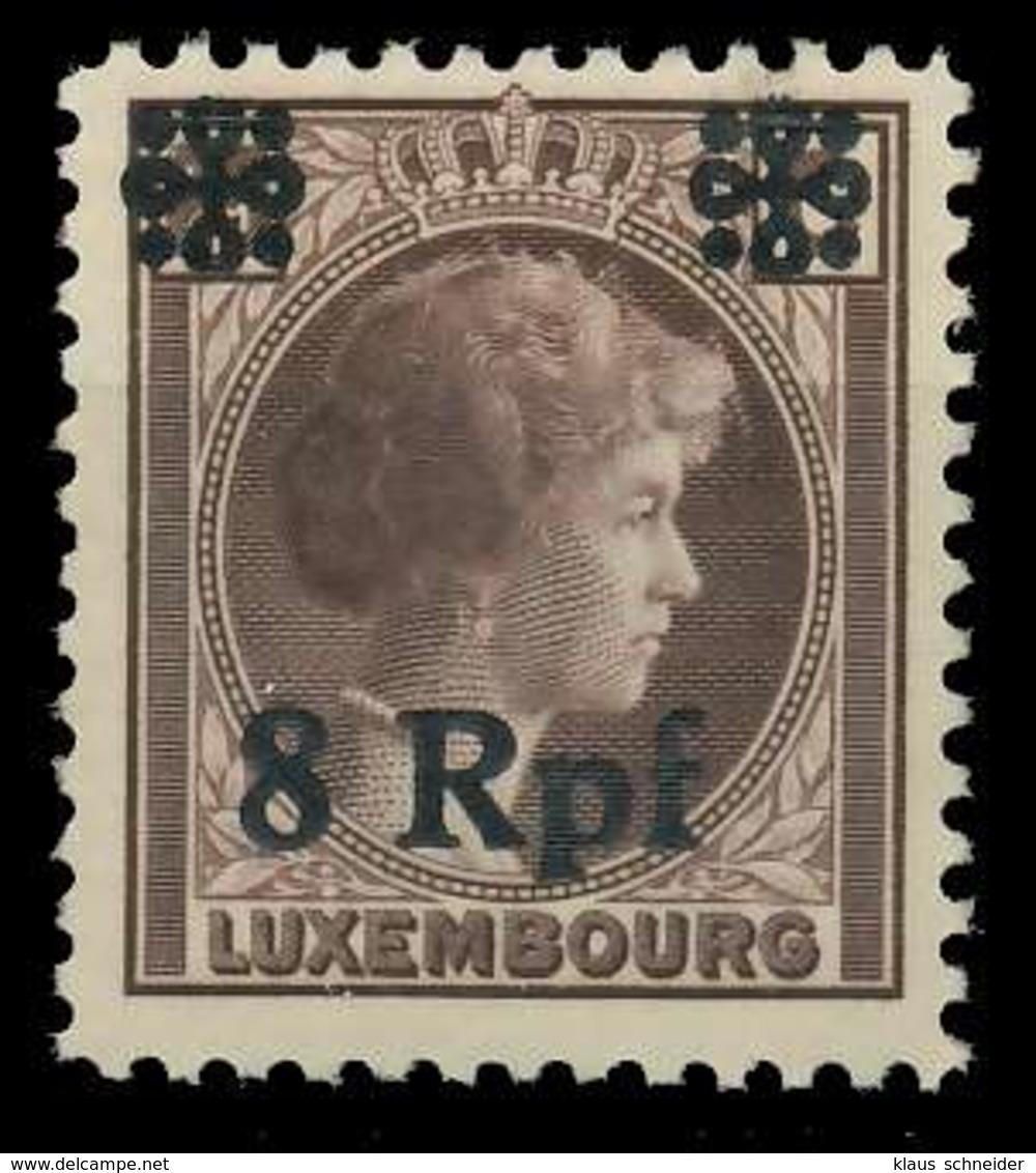 BES. 2WK LUXEMBURG Nr 21 Postfrisch X82AEAA - Besetzungen 1938-45