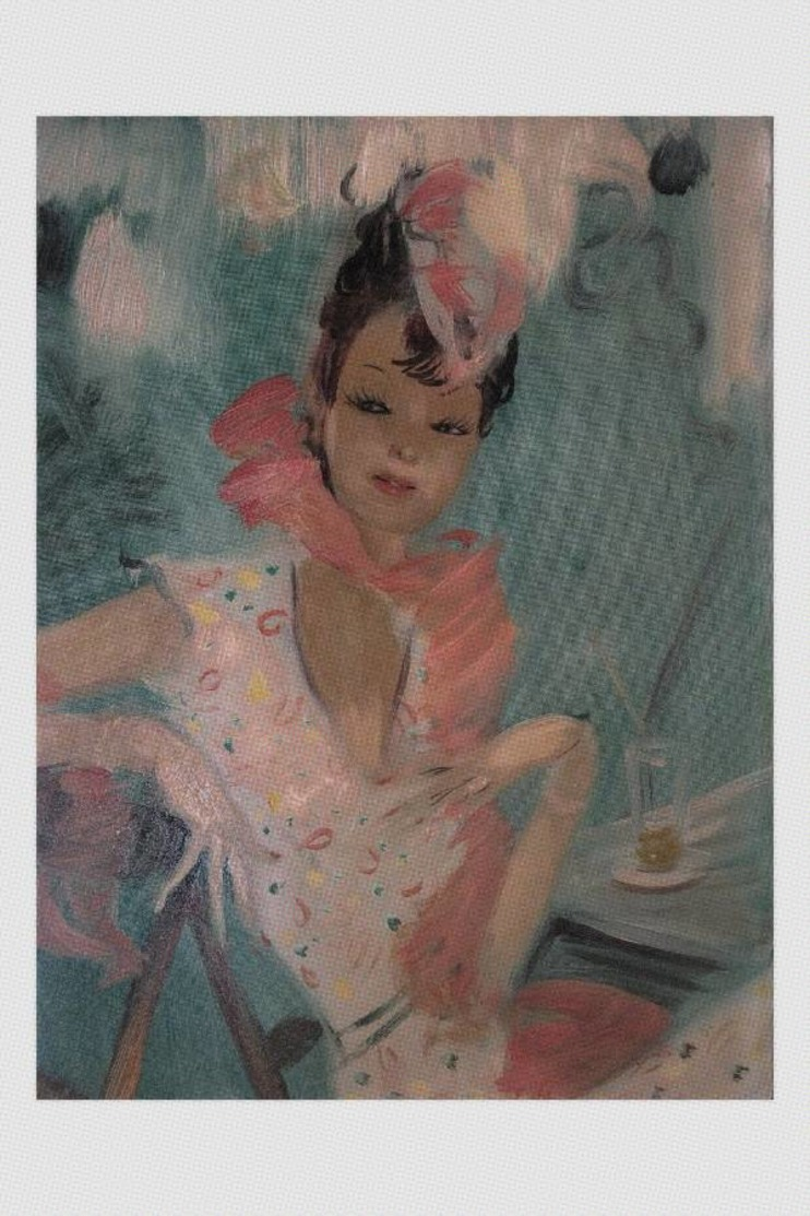 Jean-Gabriel Domergue Nude Sexy Pin-up Elegant Lady. - Fine Nudes (adults < 1960)