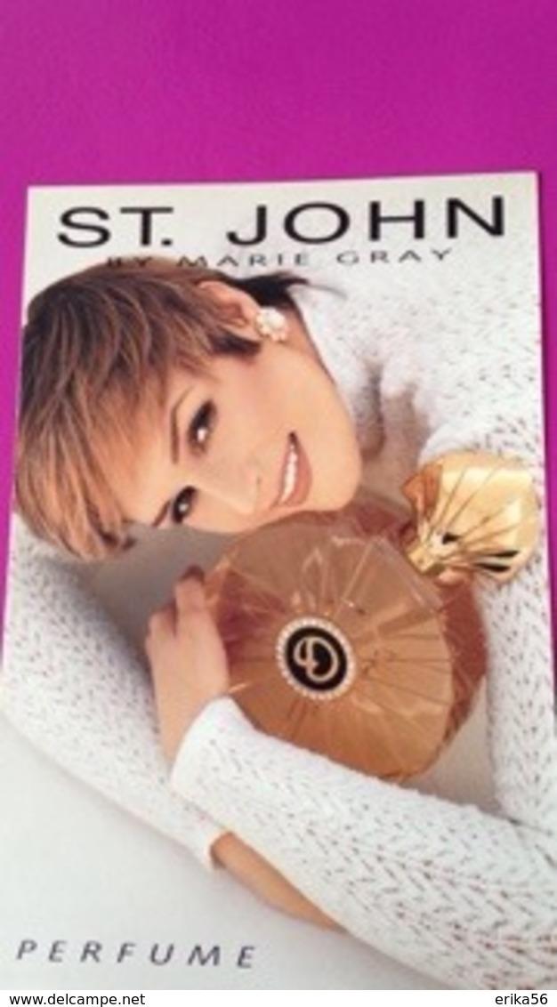 ST JOHN   MARIE GRAY - Perfume Cards