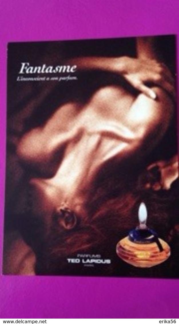 FANTASME  TED LAPIDUS - Perfume Cards