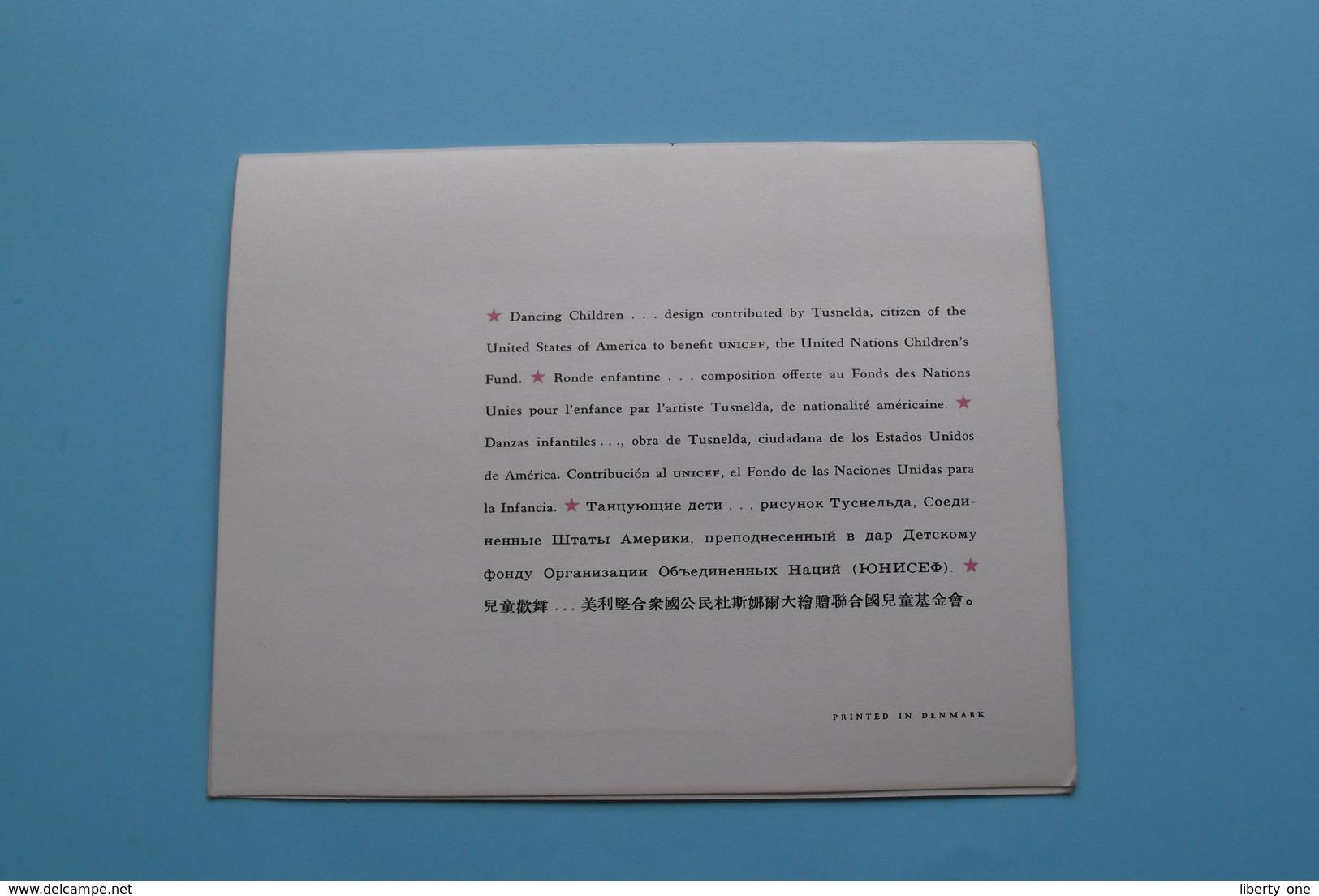 """Word LID Van UNICEF ! Stad GENT > Uitnodiging 28 Maart 1969 Trekking TOMBOLA Met """" The Javelins """" Peter, Tommy & Leona ! - Organizaciones"""
