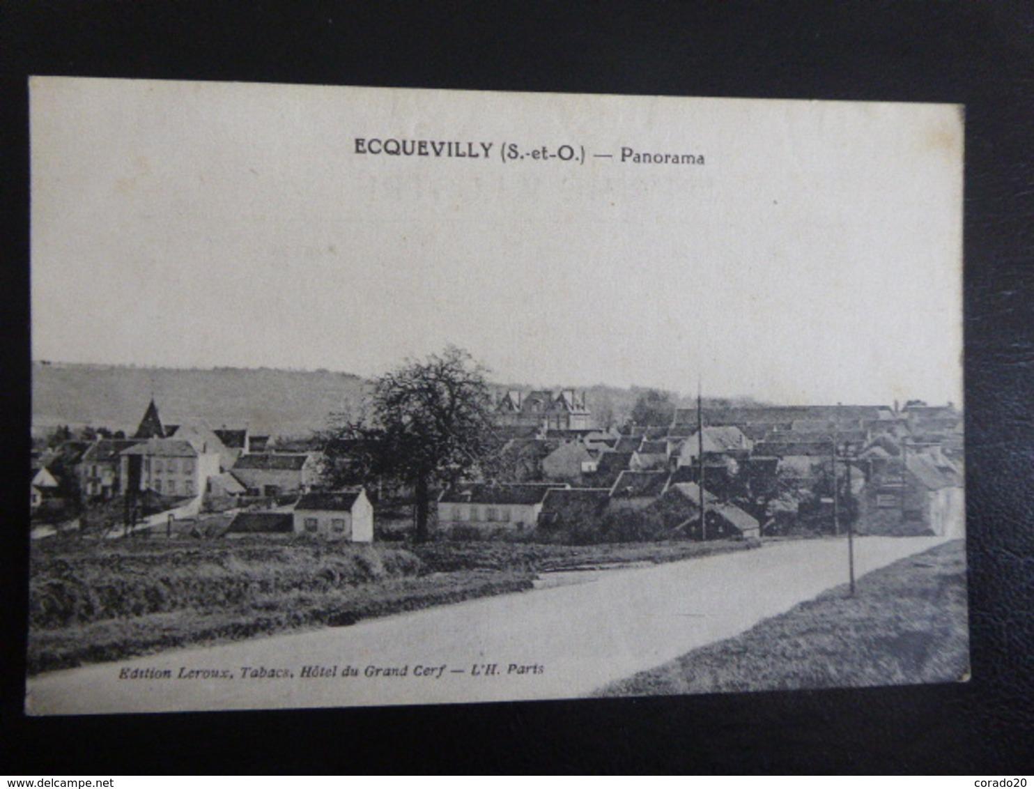 ECQUEVILLY - Panorama - Ecrite - Autres Communes