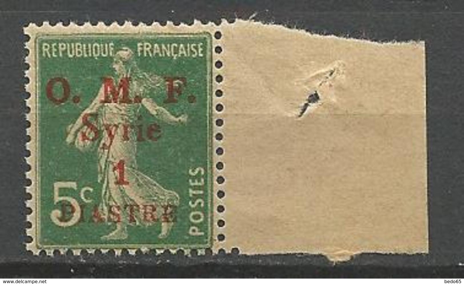 SYRIE  N° 34 NEUF**  SANS CHARNIERE  / MNH - Syria (1919-1945)