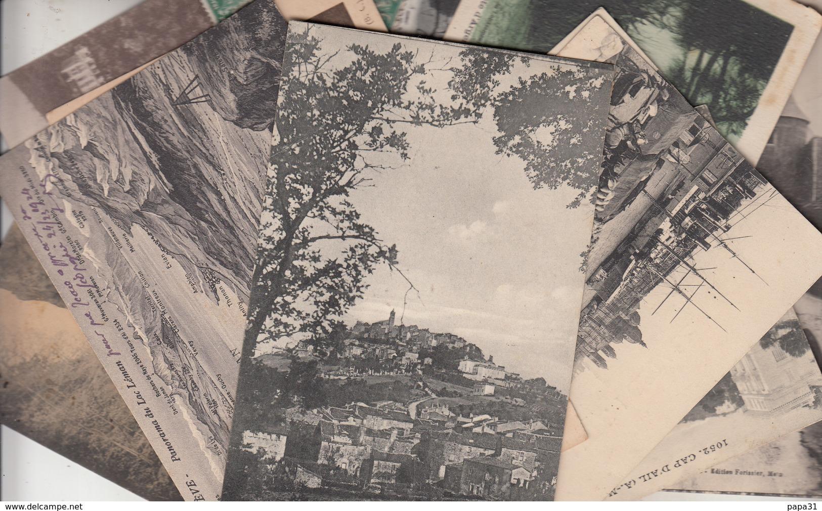 Lot De + De 100 Cartes Anciennes De France - 100 - 499 Postkaarten