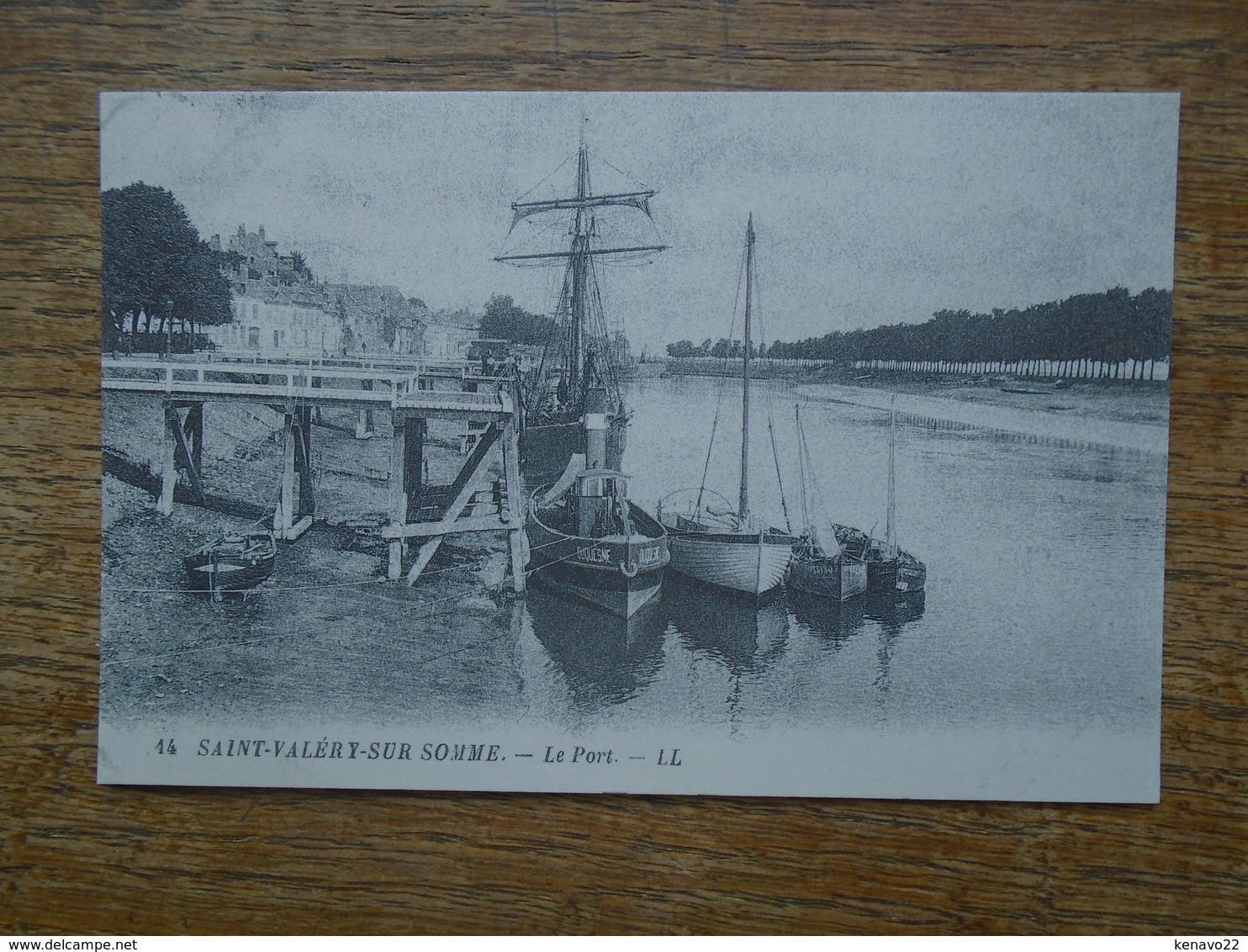 """"""" édition Cartes D'autrefois """" Saint-valéry-sur-somme , Le Port - Saint Valery Sur Somme"""