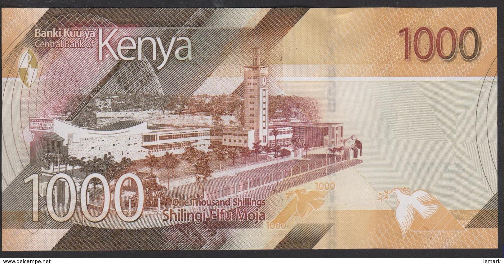Kenya 1000 Shillings 2019 Pnew UNC - Kenia