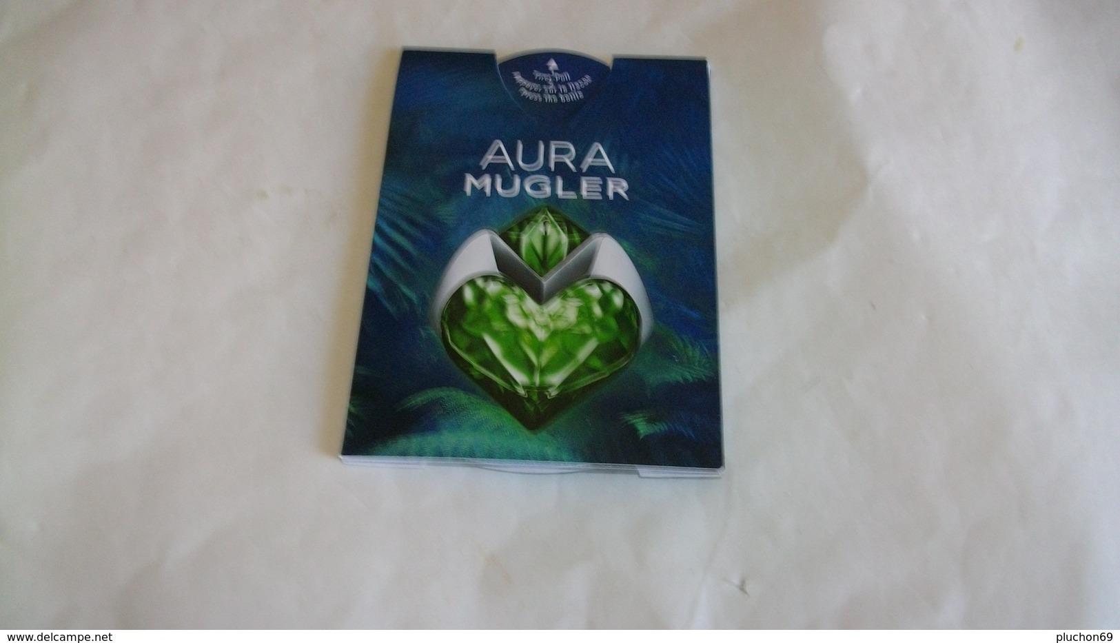 Carte Parfumée /Puffer Mugler Aura - Perfume Cards