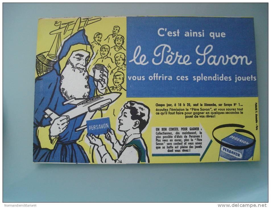 Buvard Publicitaire Le Pere Savon - S