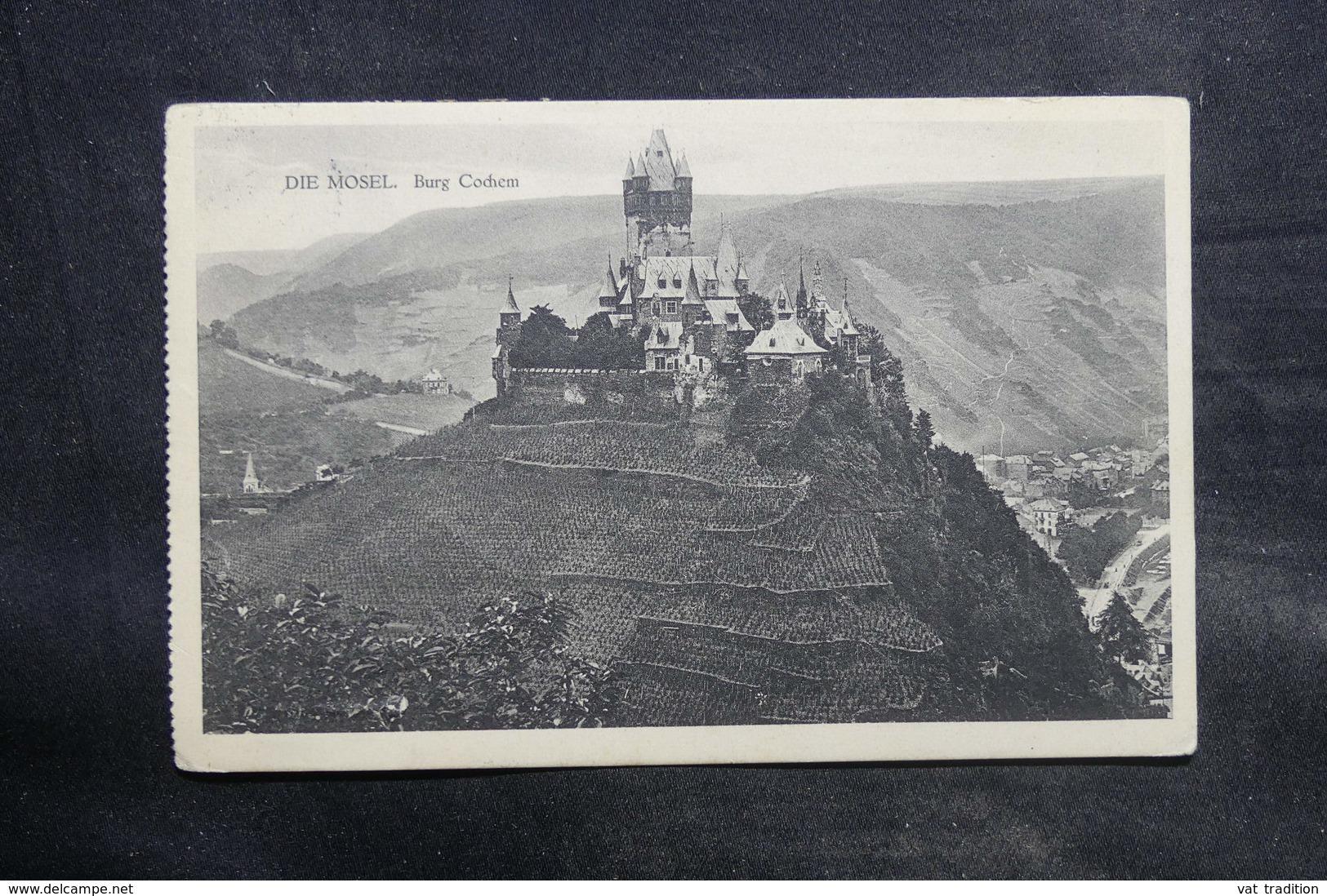 ALLEMAGNE - Oblitération Ambulant Sur Carte Postale Pour La Belgique En 1913 - L 34716 - Covers & Documents