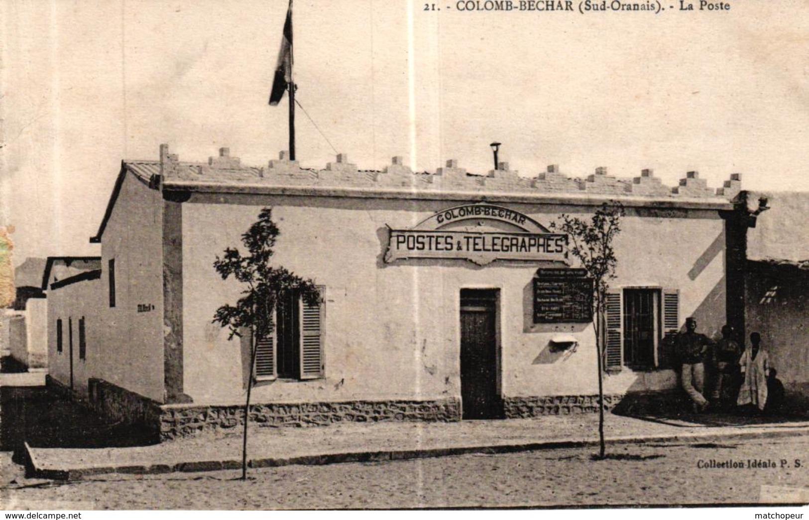 ALGERIE - COLOMB BECHAR LA POSTE - Bechar (Colomb Béchar)