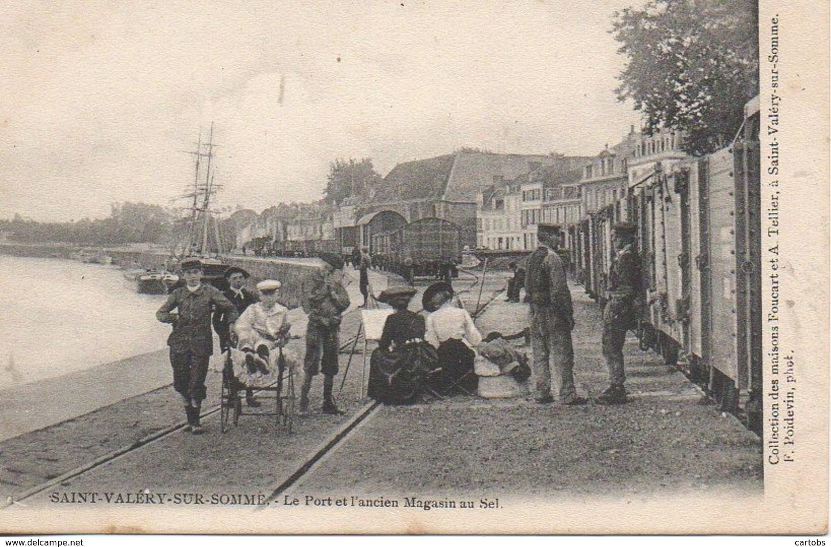 80 St-VALERY-sur-SOMME  Le Port Et L'Ancien Magasin De Sel - Saint Valery Sur Somme