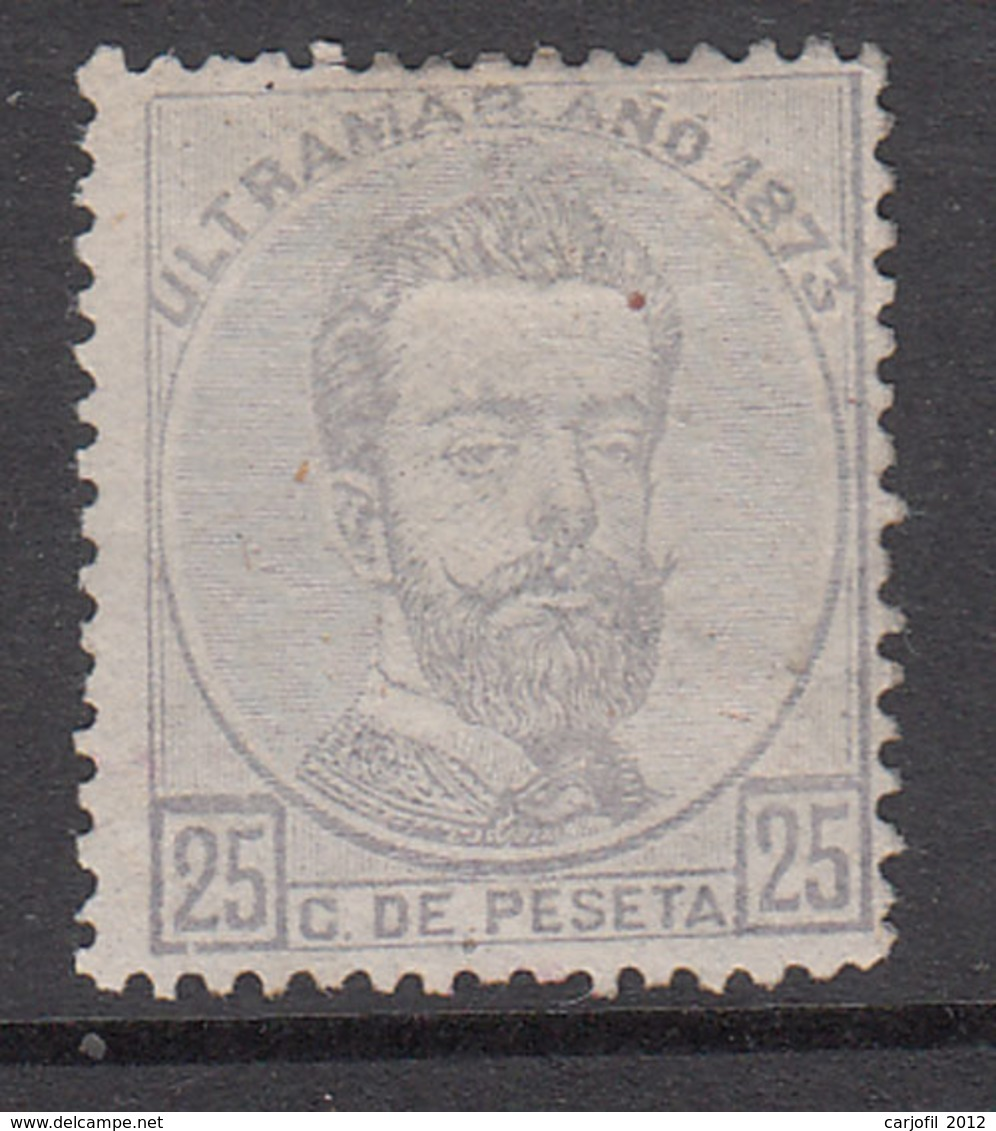 Antillas Sueltos 1873 Edifil 25 (*) Mng - España