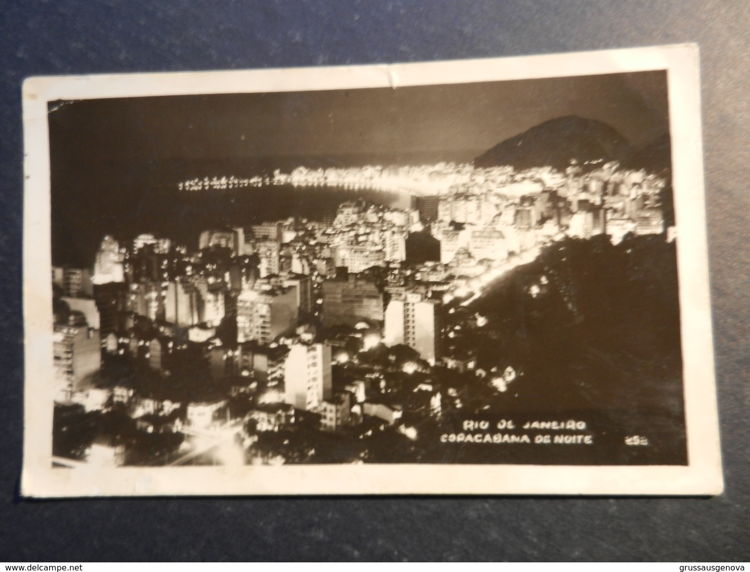 19957) RIO DE JANEIRO COPACABANA DE NOITE NON VIAGGIATA - Rio De Janeiro