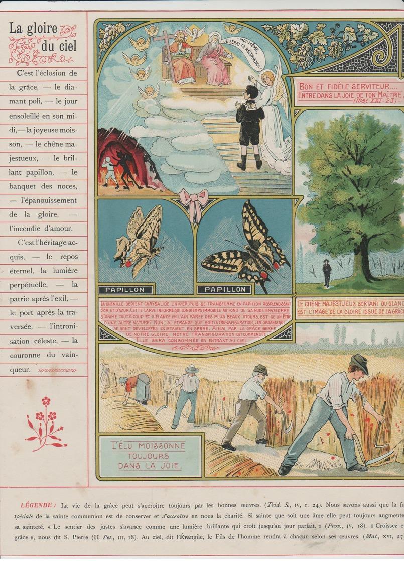 Image - Religieuse - 1912 -  290X225 - LA GRÂCE - La Gloire Du Ciel. - Images Religieuses