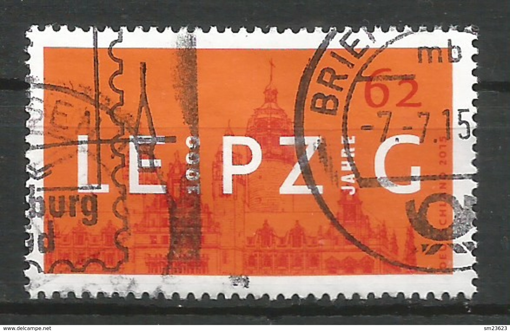 BRD 2015  Mi.Nr. 3164 , 1000 Jahre Leipzig - Gestempelt / Fine Used / (o) - Gebraucht