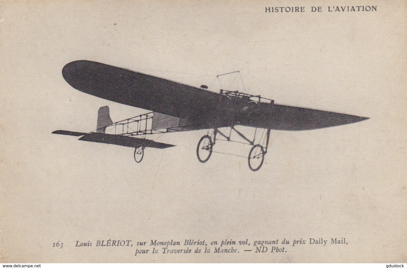 Louis Blériot Sur Monoplan Blériot, En Plein Vol, Gagnant Du Prix Daily Mail - ....-1914: Vorläufer