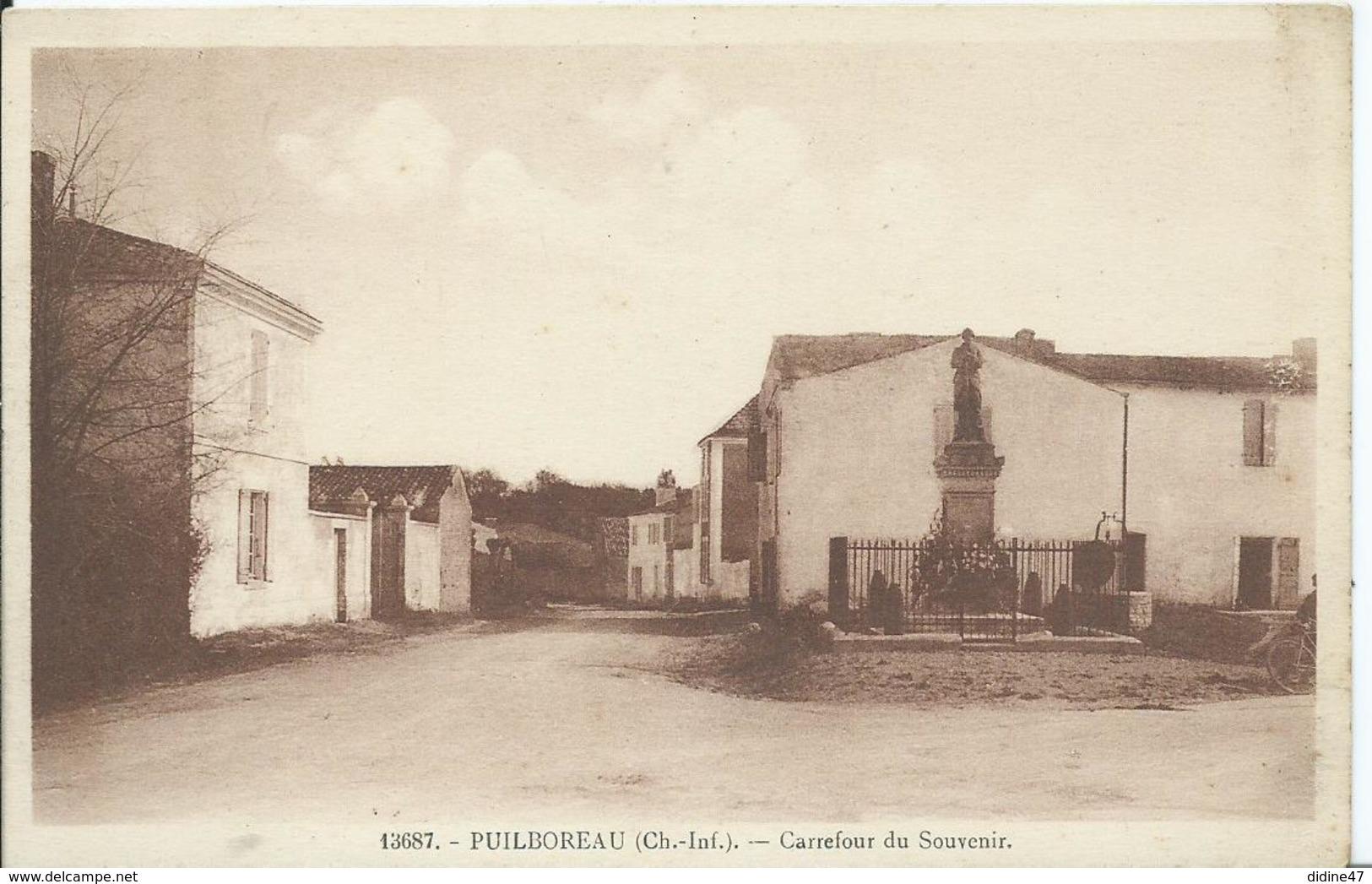 PUILBOREAU - Carrefour Du Souvenir - Altri Comuni