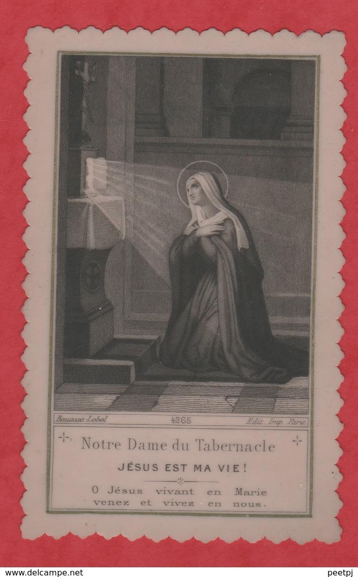 Image Pieuse - -  SANTINO - Holly Card - Bouasse - Lebel - Paris - Celluloïd - - Images Religieuses