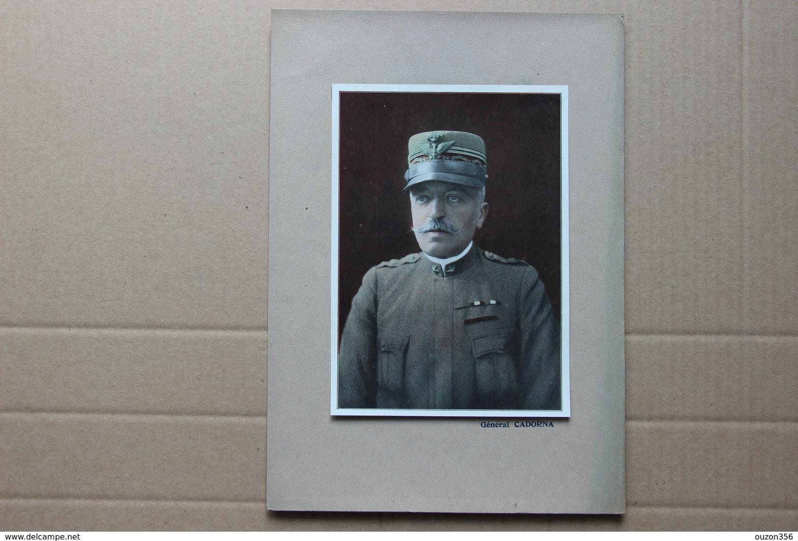 Général Cadorna - Estampes & Gravures