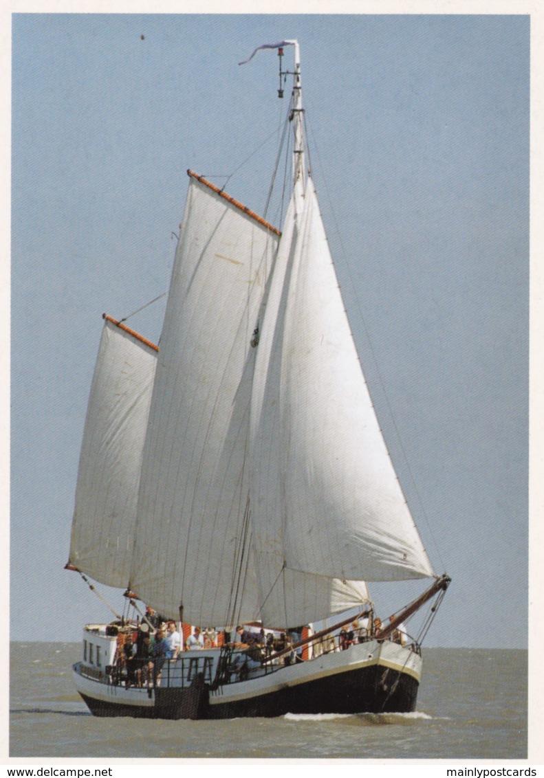 AM14 Shipping - Sailing Ships, Rosa Van Delft, Tweemastzeilklipper - Segelboote