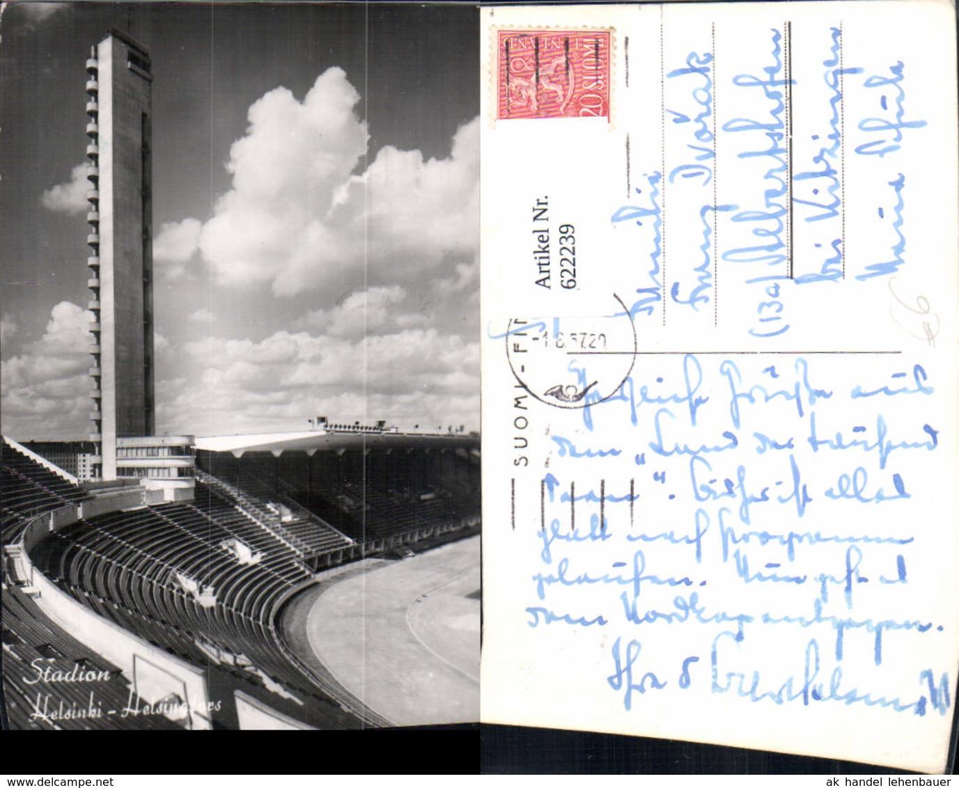 622239,Helsinki Stadion Helsingfors Finland - Ansichtskarten