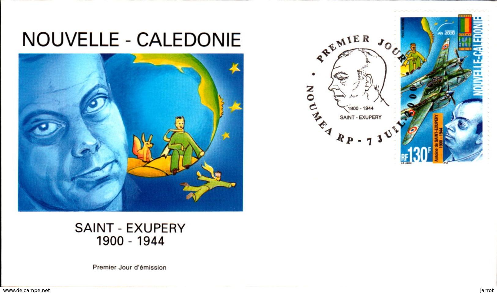 Nouvelle Calédonie PA N° 348 Saint Exupéry - FDC