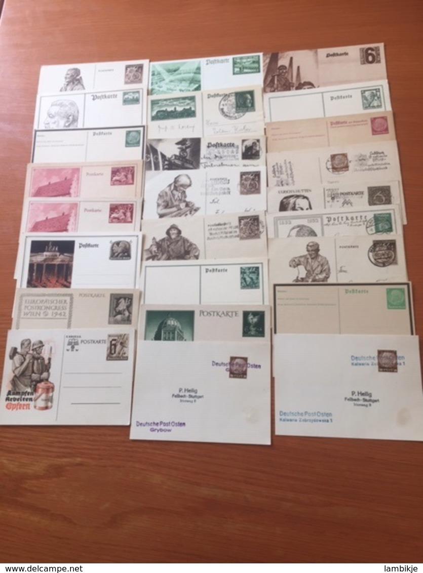 +++ Sammlung 50 + Postkarten Deutsches Reich +++ - Briefmarken