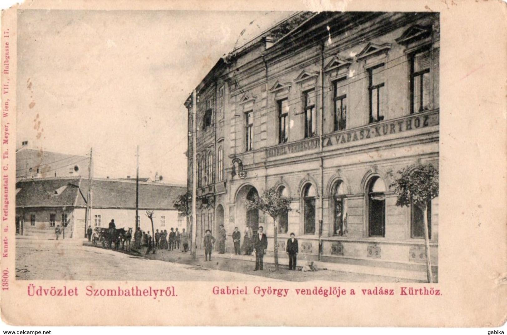 Hungary, Szombathely, Restaurant - Ungheria