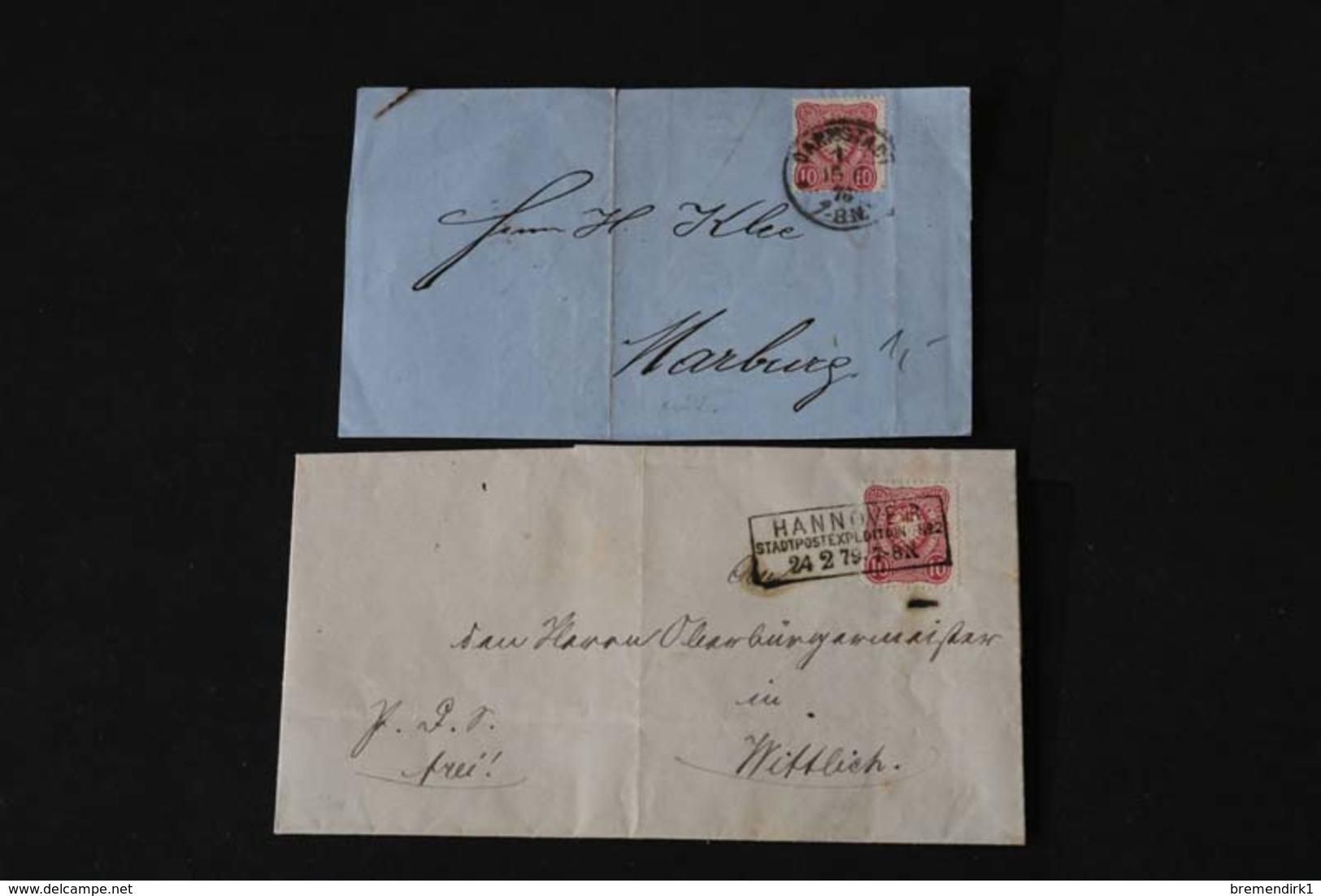DEUTSCHES REICH Brief/ Brieffrontseiten-Posten ....195 (F) - Lots & Kiloware (min. 1000 Stück)