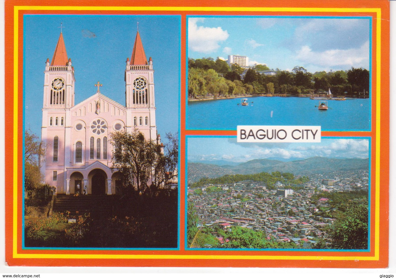 °°° 13365 - PHILIPPINES - BAGUIO CITY - VIEWS - 1987 °°° - Filippine