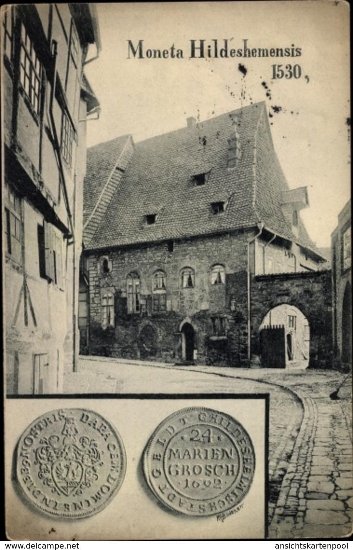 Cp Hildesheim In Niedersachsen, Münzen, Partie In Der Altstadt - Allemagne
