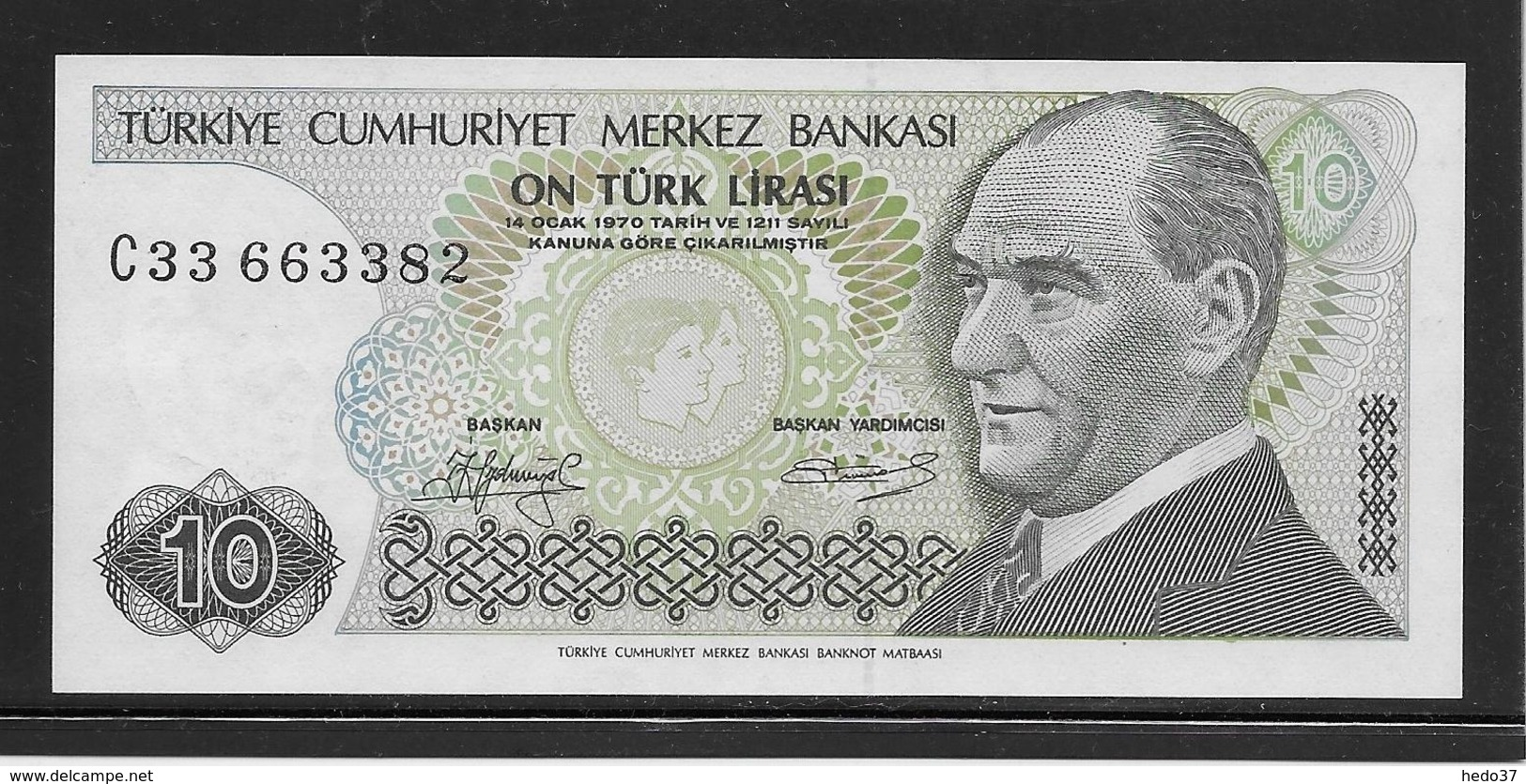 Turquie - 10 Lira - Pick N°192 - NEUF - Turchia
