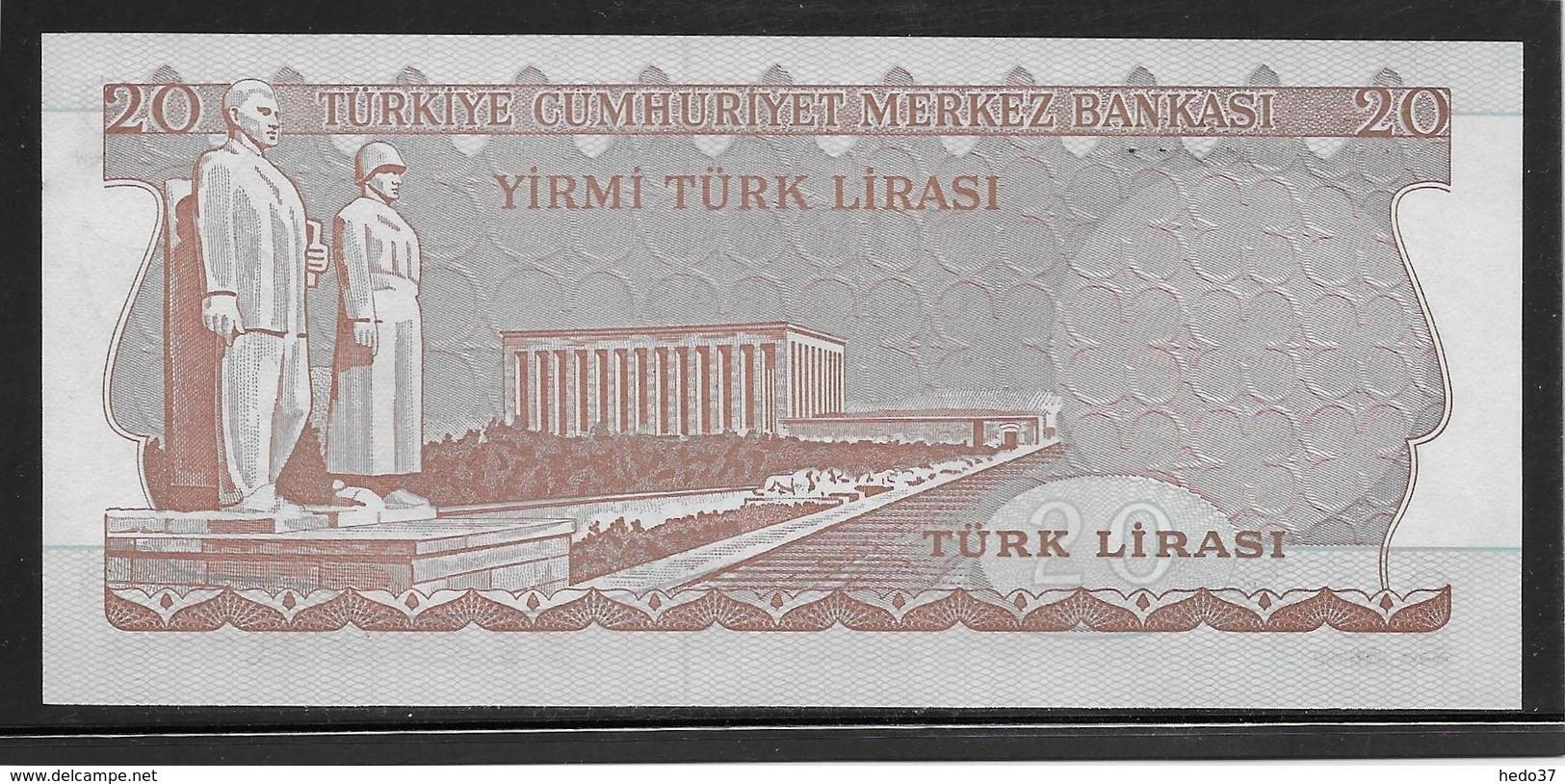 Turquie - 20 Lira - Pick N°187b - NEUF - Turchia