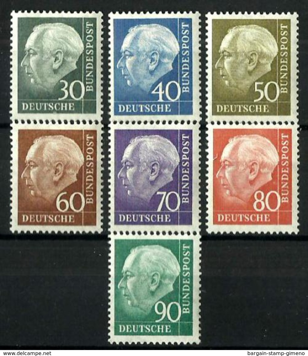 Alemania Federal Nº 125A/28B Con Charnela - Unused Stamps