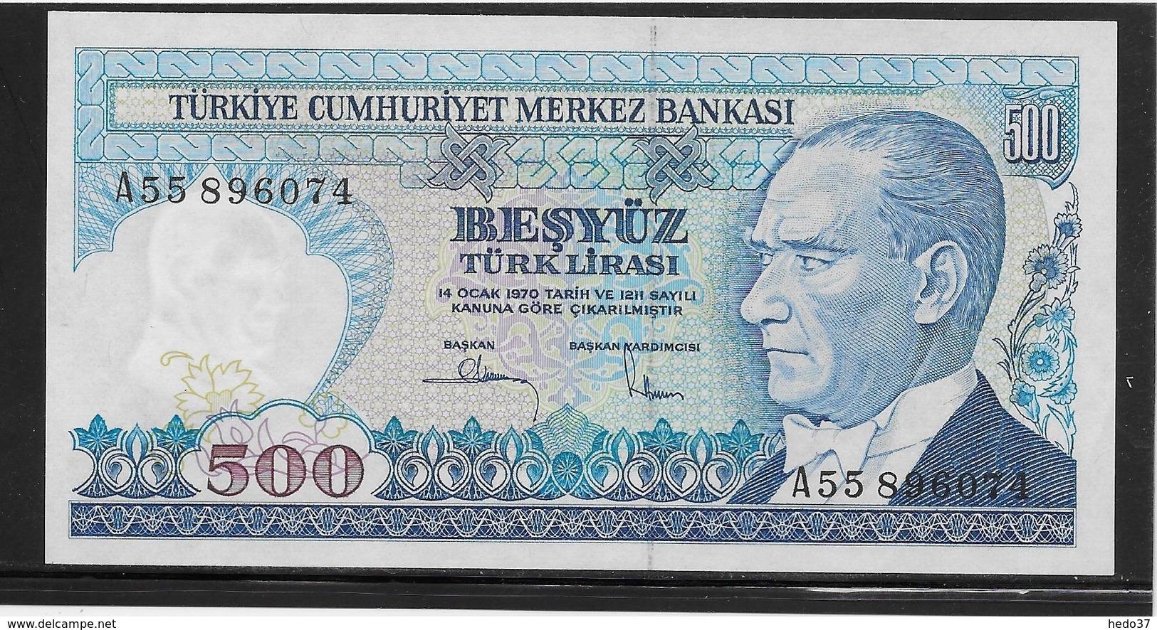 Turquie - 500 Lira - Pick N°195 - NEUF - Turkije