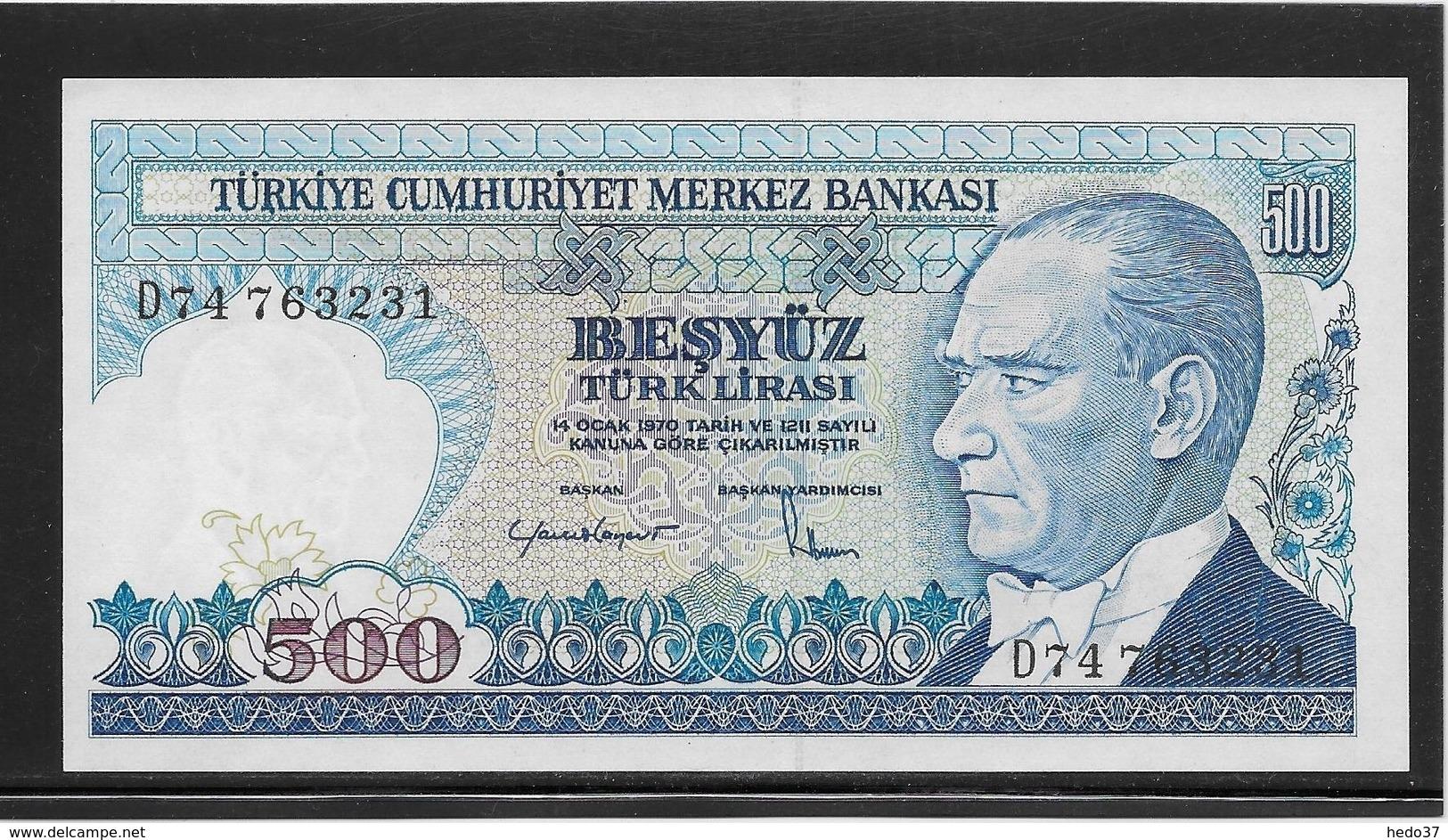Turquie - 500 Lira - Pick N°195 - NEUF - Turquia