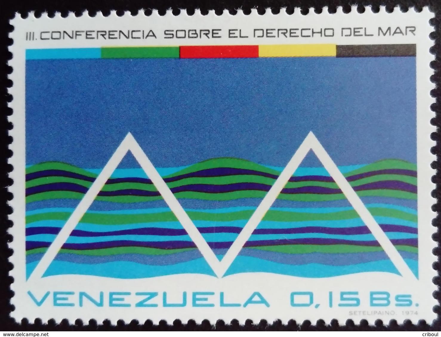 Venezuela 1974 Mer Sea Yvert 927 ** MNH - Venezuela