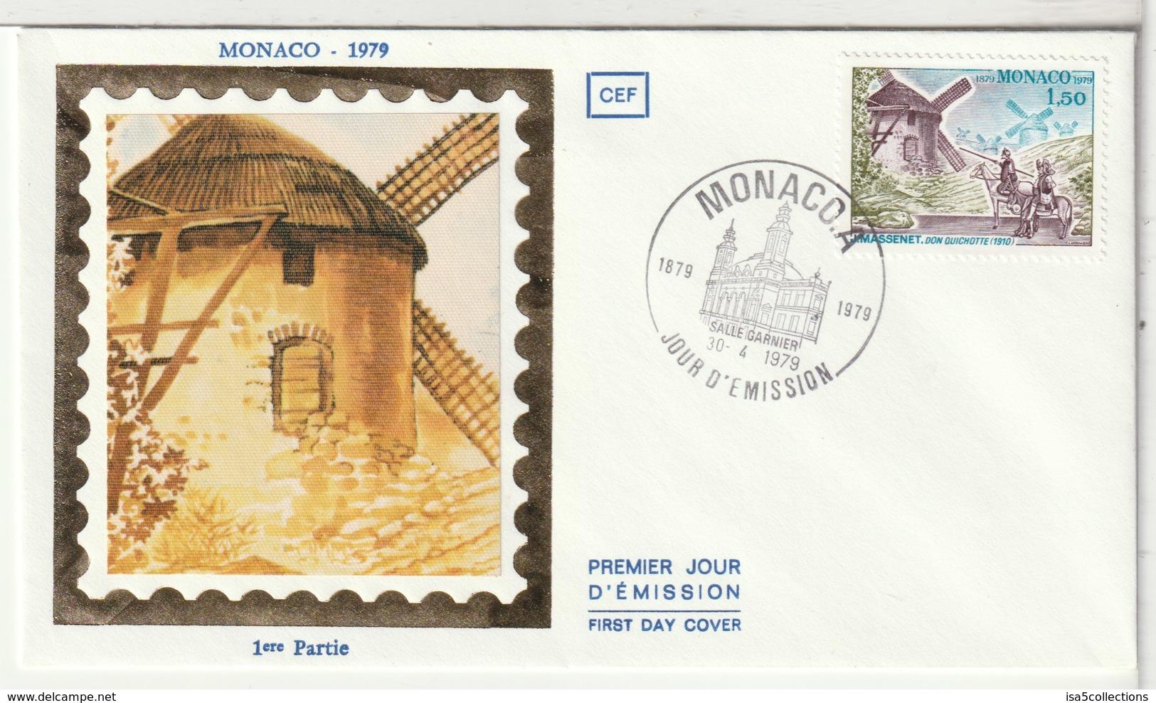 MONACO - FDC - 1979 - FDC