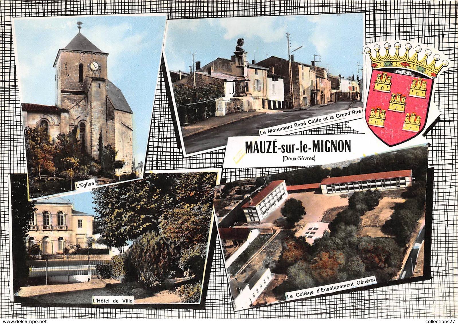 79-MAUZE-SUR-LE-MIGNON- MULTIVUES - Mauze Sur Le Mignon