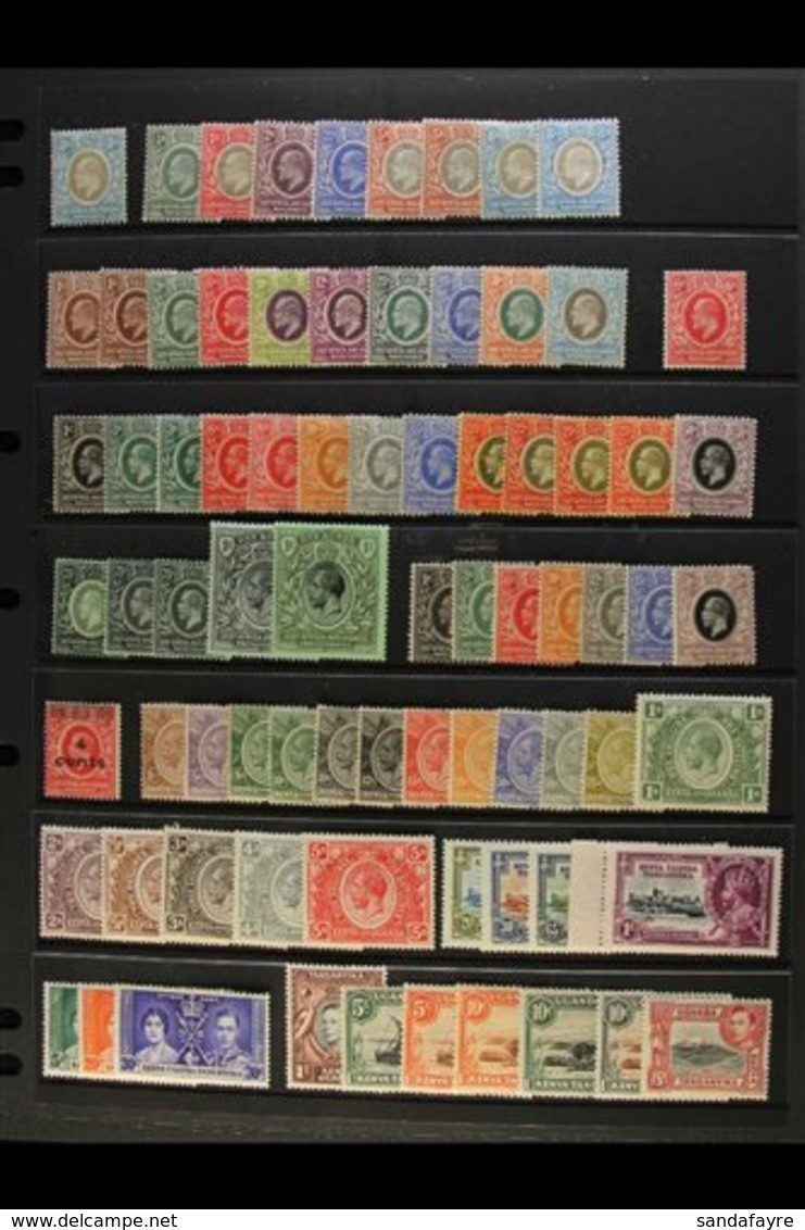 1903-54 FINE MINT COLLECTION Incl. 1903-04 8a, 1904-07 To Both 8a, 1907-08 Set, 1910 6c, 1912-21 With Shades To 1r, 1921 - Publishers