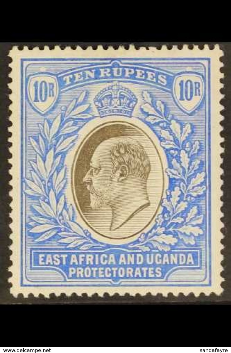 1904 - 07 10r Grey And Ultramarine, Wmk MCA, Ed VII, SG 31, Very Fine Mint. For More Images, Please Visit Http://www.san - Publishers