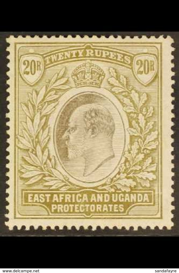 1904-7 20r Grey And Stone, Wmk MCA, Ed VII, SG 32, Mint, Lightly Toned Perf Tips Not Visible From The Front. Scarce Stam - Publishers