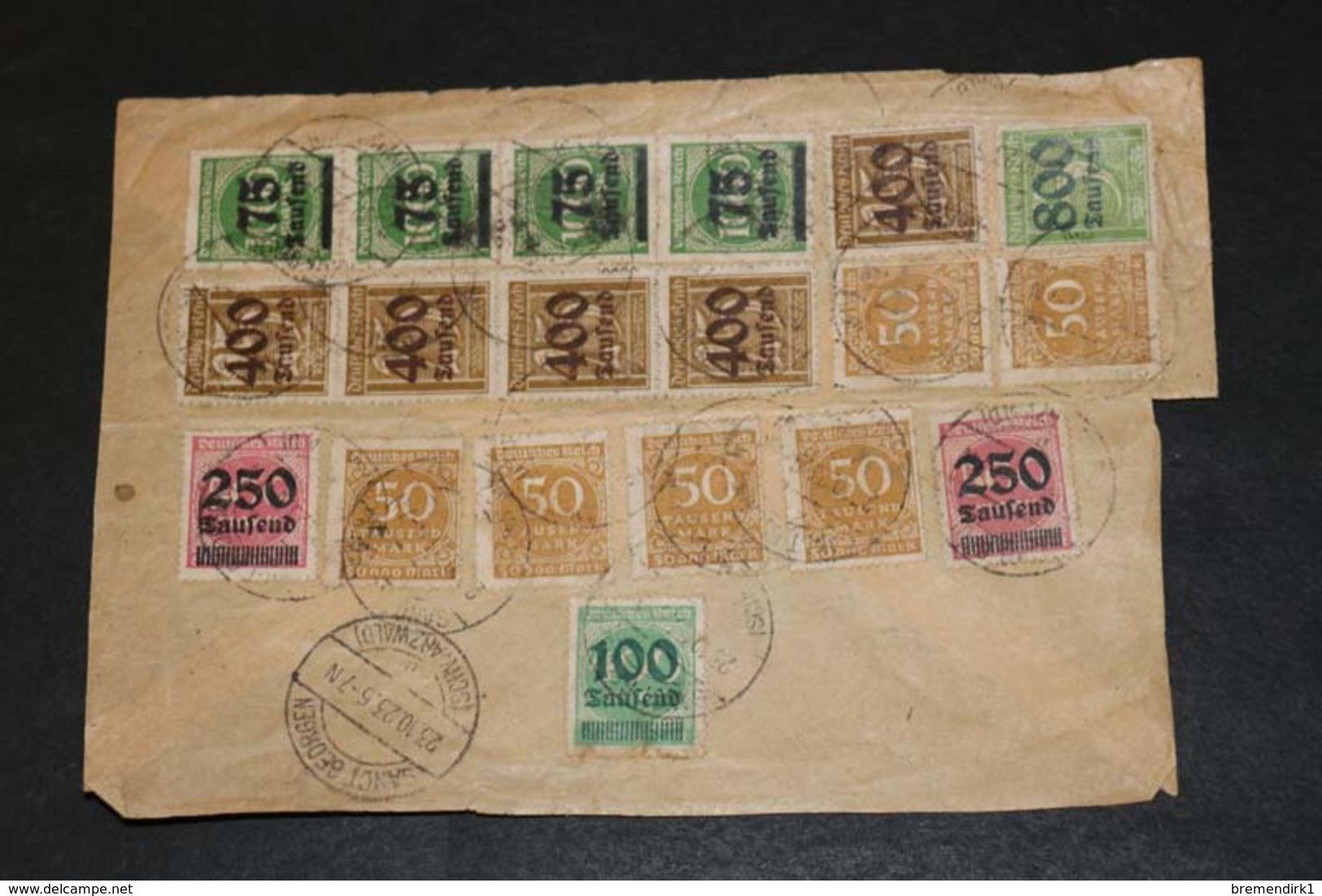 DEUTSCHES REICH Brief-Posten ....194 (F) - Lots & Kiloware (min. 1000 Stück)